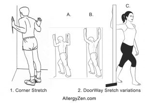Doorway and variations of Corner Stretches